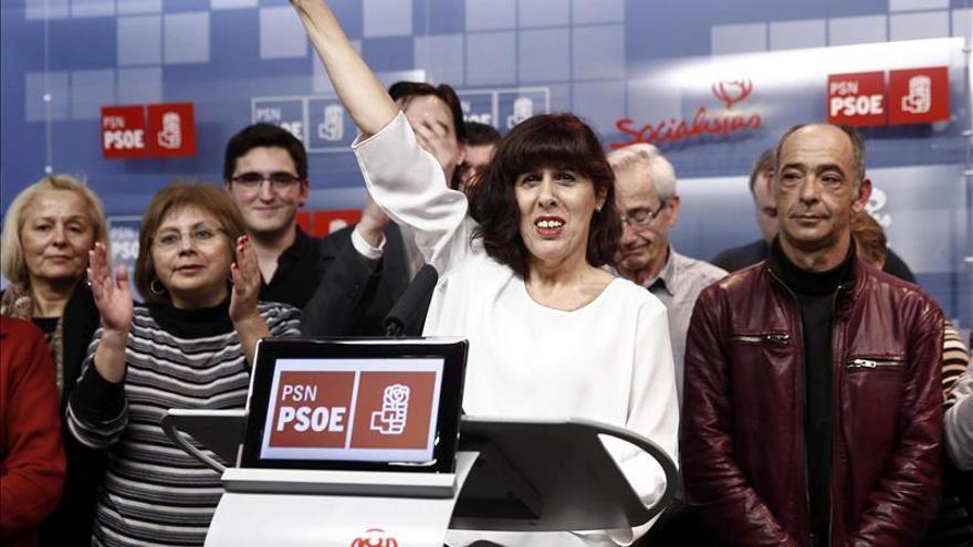 Esporrín elegida candidata a la Alcaldía de Pamplona, con un 62 por ciento de apoyos