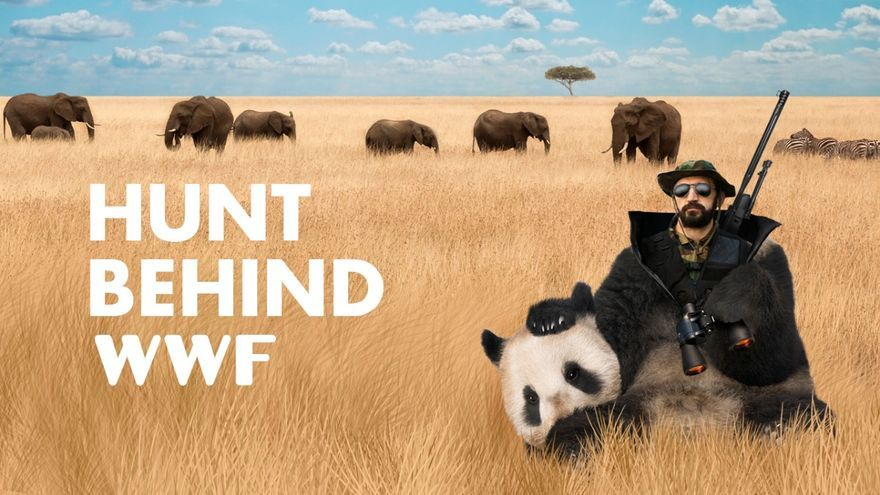 Hunt Behind WWF
