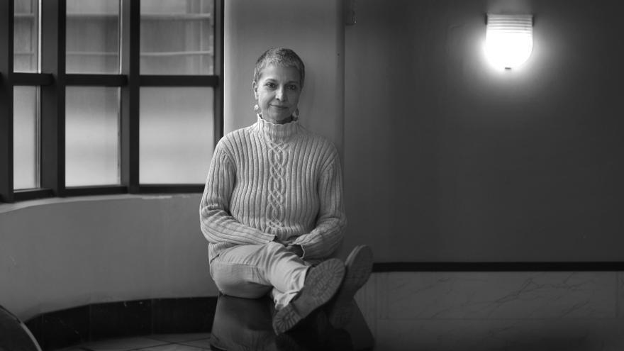 L'escriptora Anna Montero.