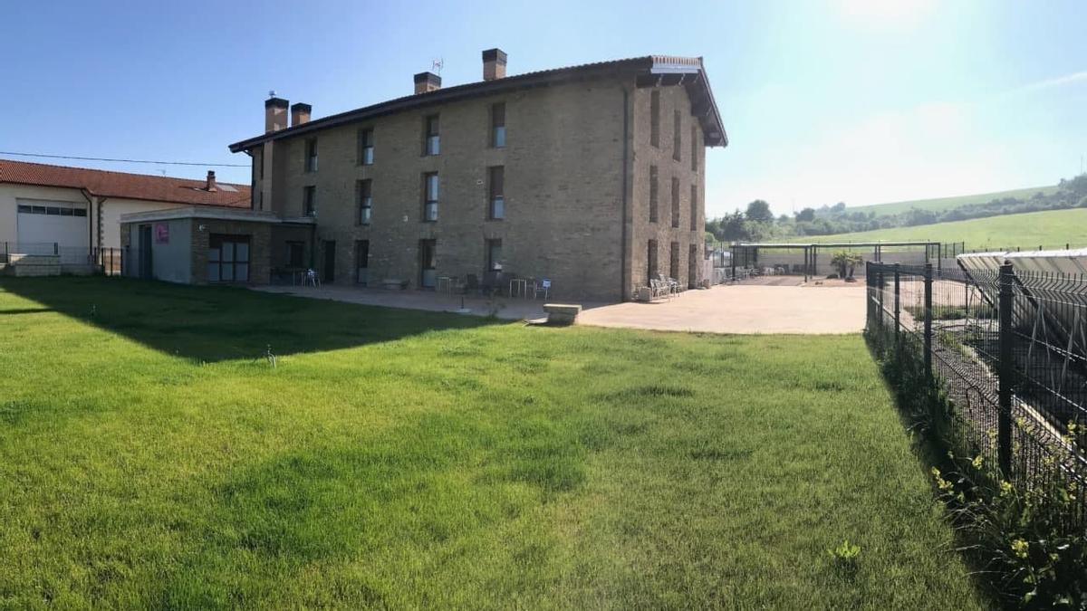 La residencia Ascarza de Vitoria