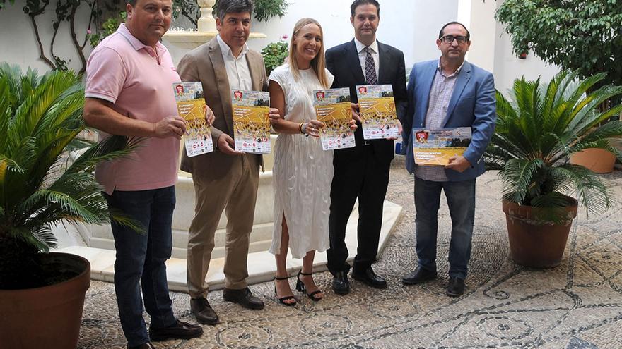 Presentación del Torneo Internacional Cajasur Cup en la Diputación.