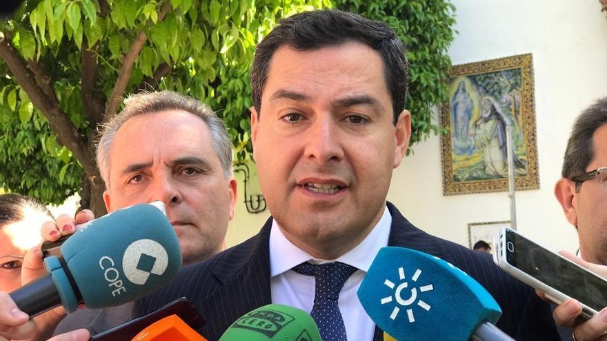 """Moreno (PP) ve """"malo para Andalucía"""" el """"escasísimo"""" peso del PSOE-A en la estructura federal del PSOE"""