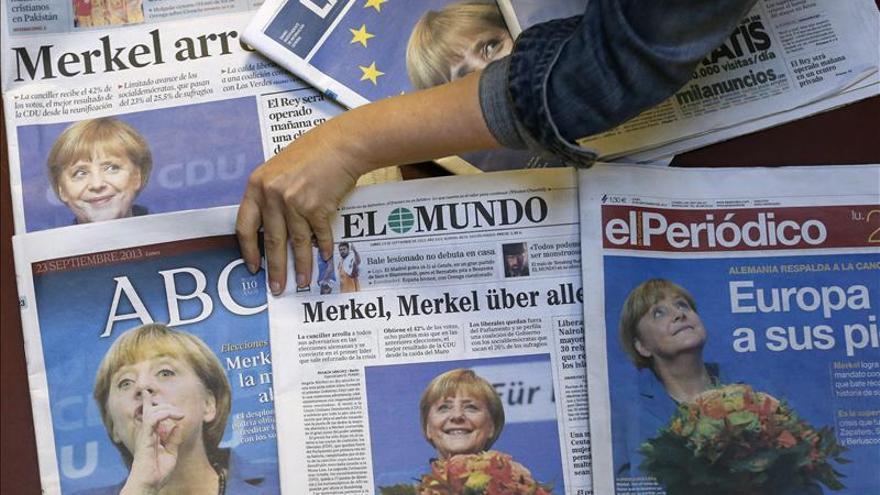 Rajoy felicita a Merkel por el magnífico resultado obtenido en las elecciones