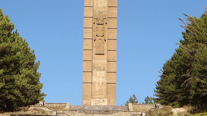 Monumento al general Mola de Alcocero de Mola (Burgos)