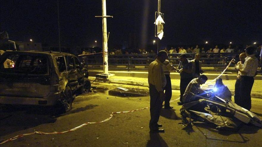 Mueren catorce personas en una serie de atentados con coche bomba en Irak