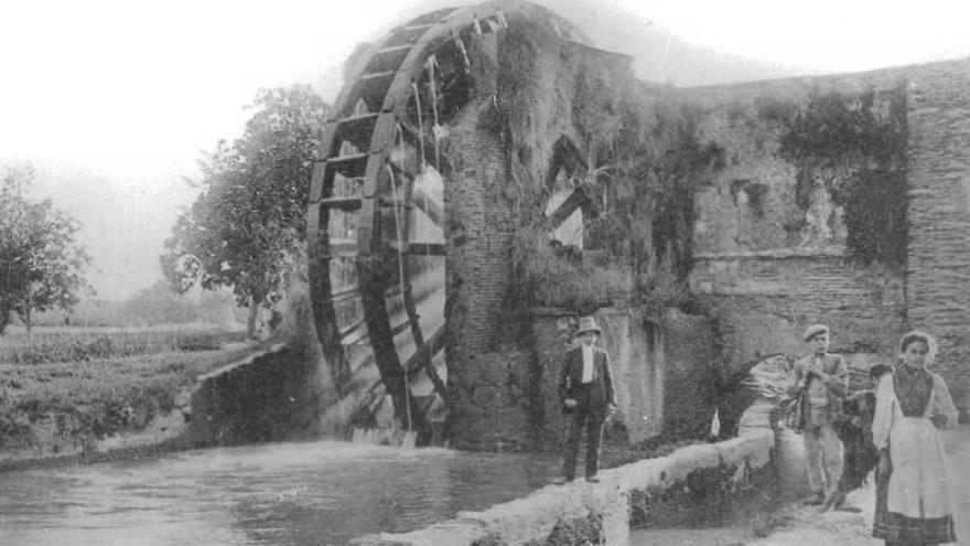 Rueda de la Ñora en el primer tercio del siglo XX / Archivo Histórico Municipal de Murcia