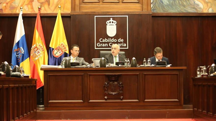 Pleno del Cabildo de Gran Canaria.