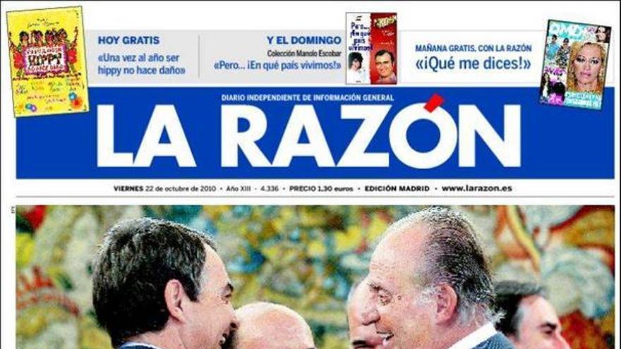 De las portadas del día (22/10/2010) #9