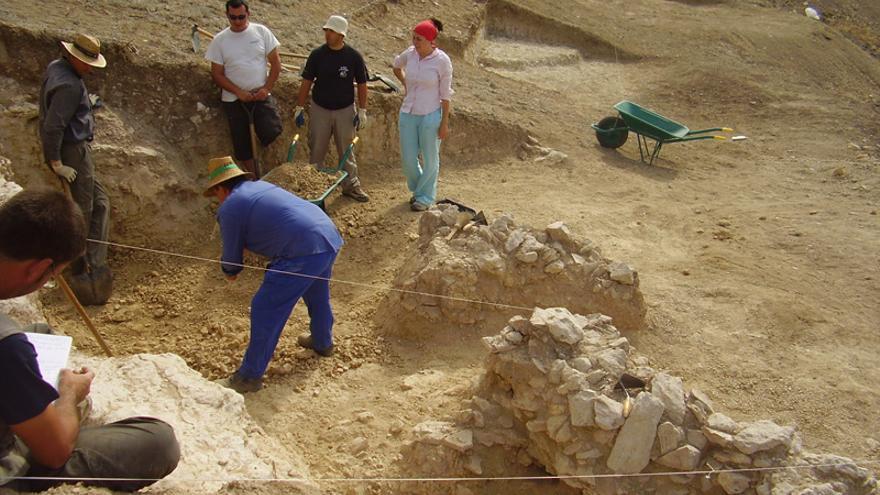 Yacimiento arqueológico del 'Valle de las Higueras', en la provincia de Toledo