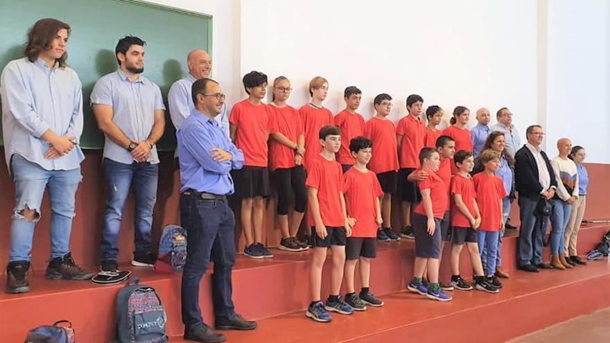 El campeonato inusular de tenis de mesa de Fuerteventura tuvo lugar en La Oliva.