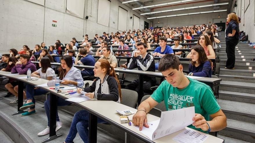 El 95,41% de los estudiantes matriculados aprueba las Pruebas de Acceso a la Universidad en la primera convocatoria
