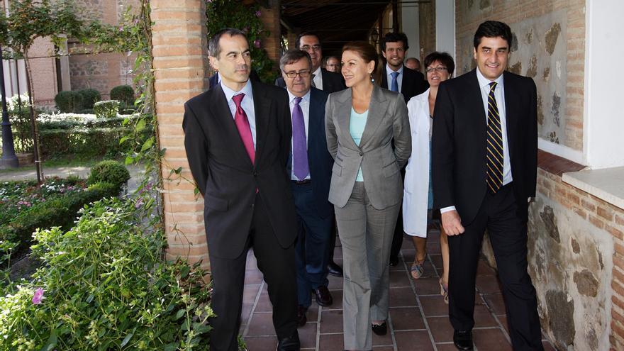 Visita oficial de Cospedal y Echániz al Hospital Provincial