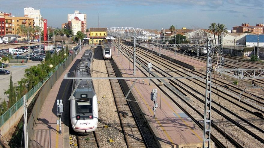 Estación de tren de Sagunt