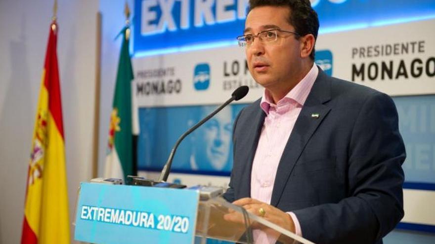 Fernando Manzano, PP Extremadura