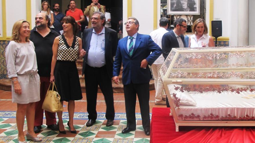 Inauguración de la exposición sobre Cine español en Sevilla