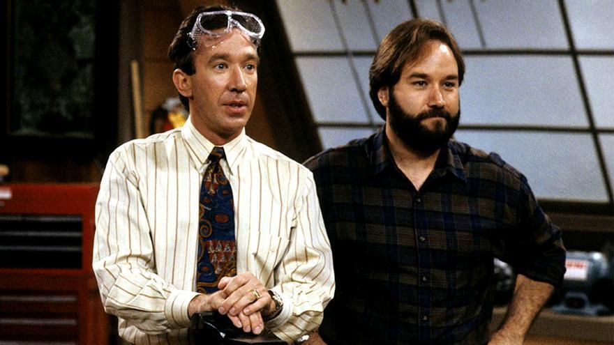 Tim 'Herramientas' Taylor y Al Borland, en 'Un chapuzas en casa'