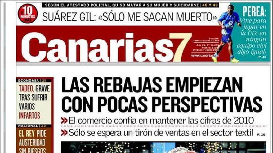 De las portadas del día (07/01/2011) #1