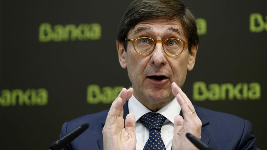 Bankia confía en que el nuevo gobierno catalán respete el estado de derecho