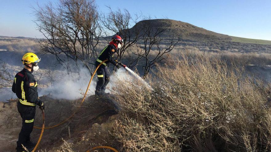 Los bomberos han tomado la determinación de dejar de hacer guardias extraordinarias
