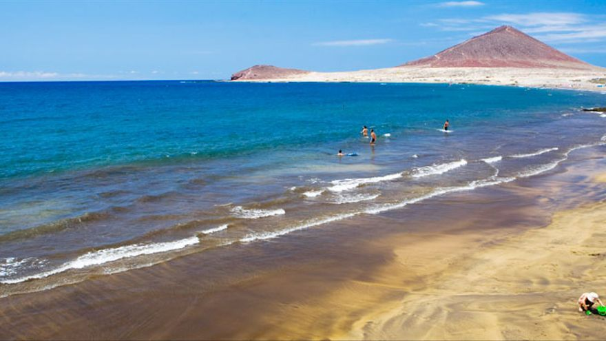 Playa de El Médano./ Webtenerife.com