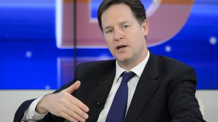 Clegg viajará a Colombia y México en busca de nuevos mercados comerciales