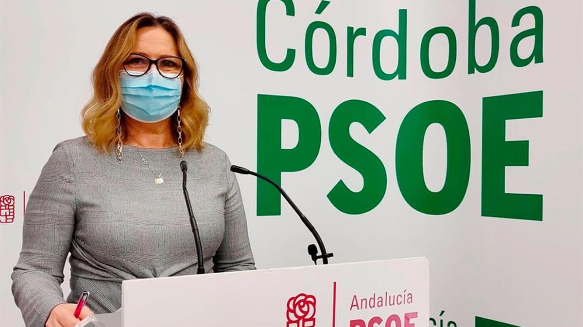 La senadora del PSOE por Córdoba María Ángeles Luna.