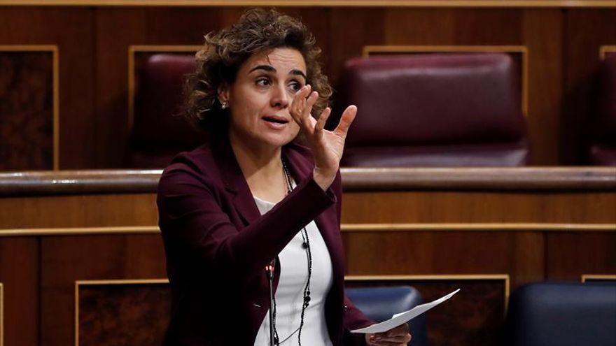 La portavoz del PP, Dolors Montserrat.