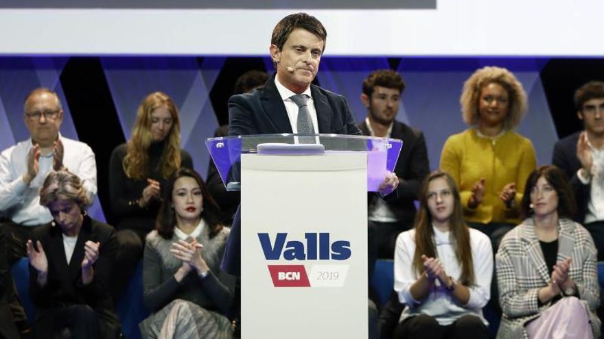 """Valls irá """"sin ningún complejo"""" a la manifestación contra Sánchez en Madrid"""