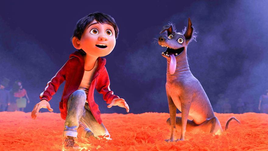 Fotograma de 'Coco', nueva película de Pixar