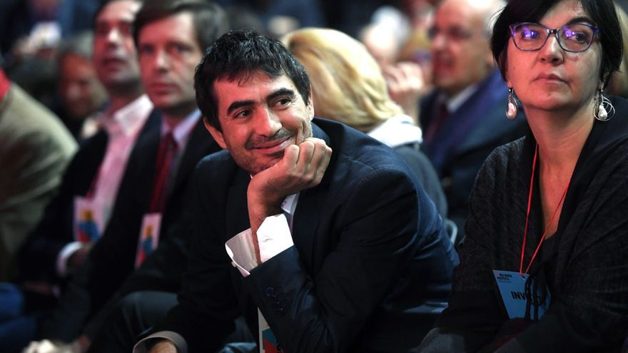 Nicola Fratoianni, secretario general de Sinistra Italiana