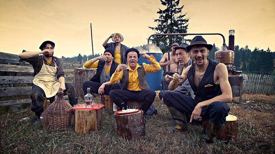 El grupo bosnio Dubioza Kolektiv