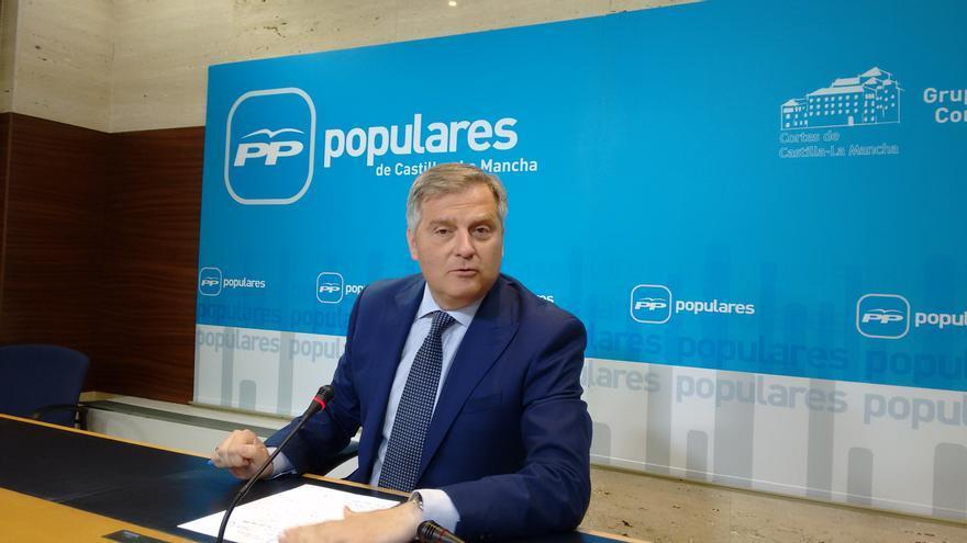 Francisco Cañizares, portavoz Partido Popular Cortes Castilla-La Mancha
