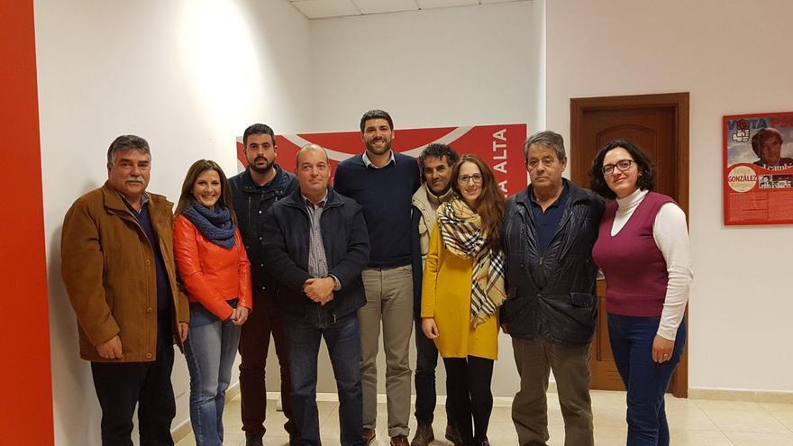 Comisión Ejecutiva del PSOE de Breña Alta.