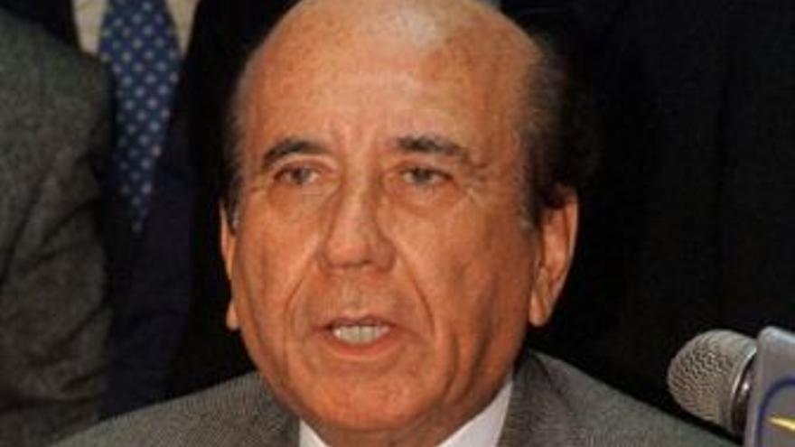 El ex presidente venezolano Carlos Andrés Pérez. (EUROPA PRESS)
