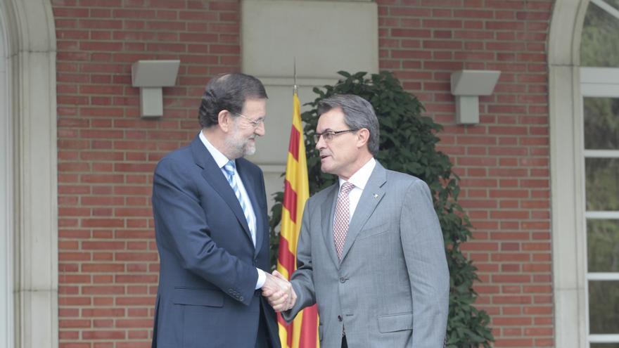 Rajoy y Mas coinciden este viernes 48 horas después de suspenderse la declaración de soberanía