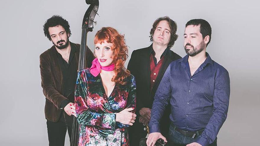 El grupo de música La Lunfardita. | TANIA NAVAS