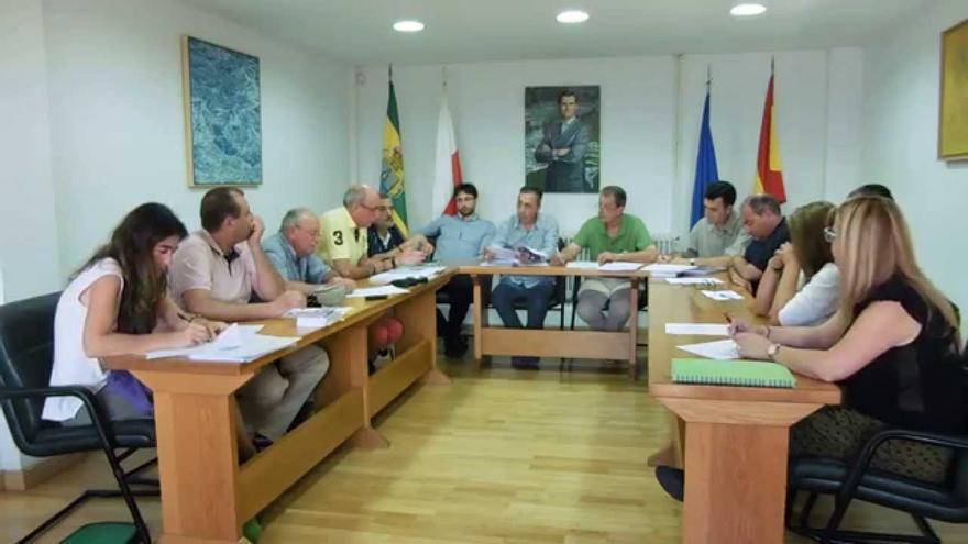 Pleno del Ayuntamiento de Miengo.