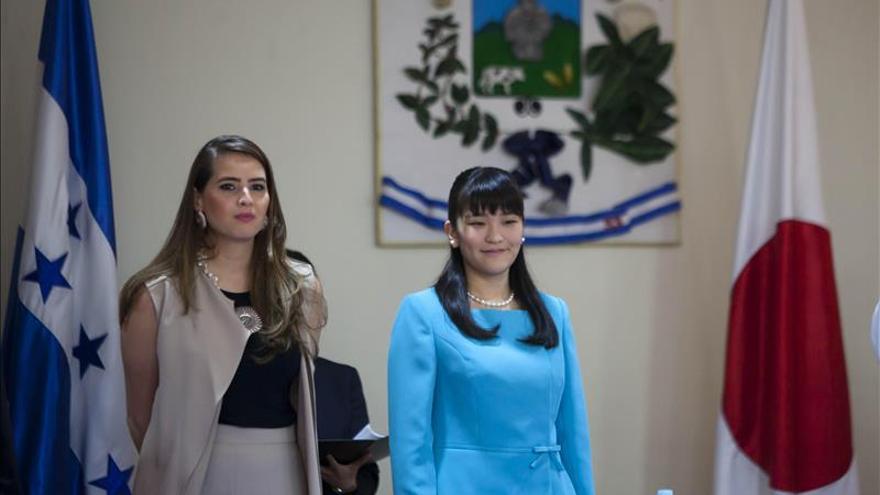 La princesa Mako de Japón inaugura el Museo Digital de Copán en Honduras