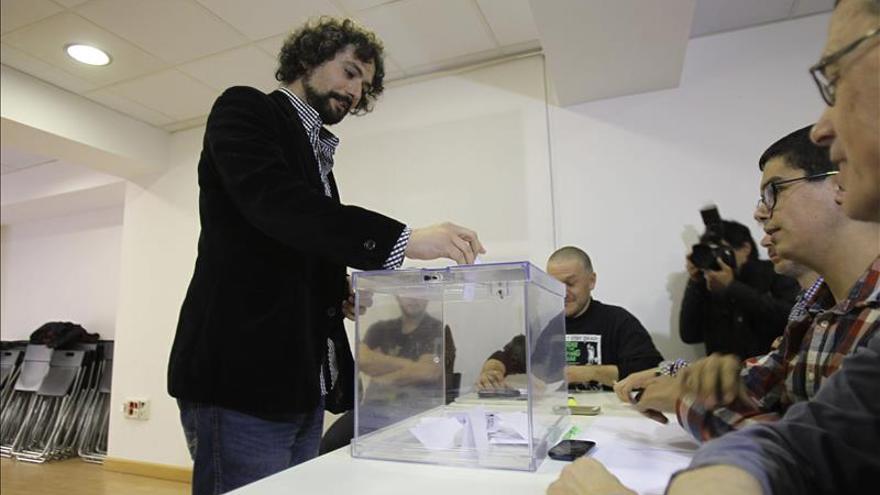 Un joven militante de base será el candidato de IU a la Presidencia de la Junta de Castilla y León