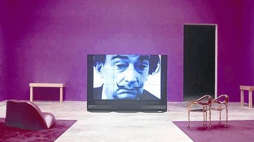 El fantasma de Dalí en el Pabellón Español de la Bienale de Venecia