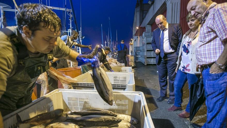La flota vasca captura 632.500 kilos de bonito en diez días y se prevé una semana intensa de pesca