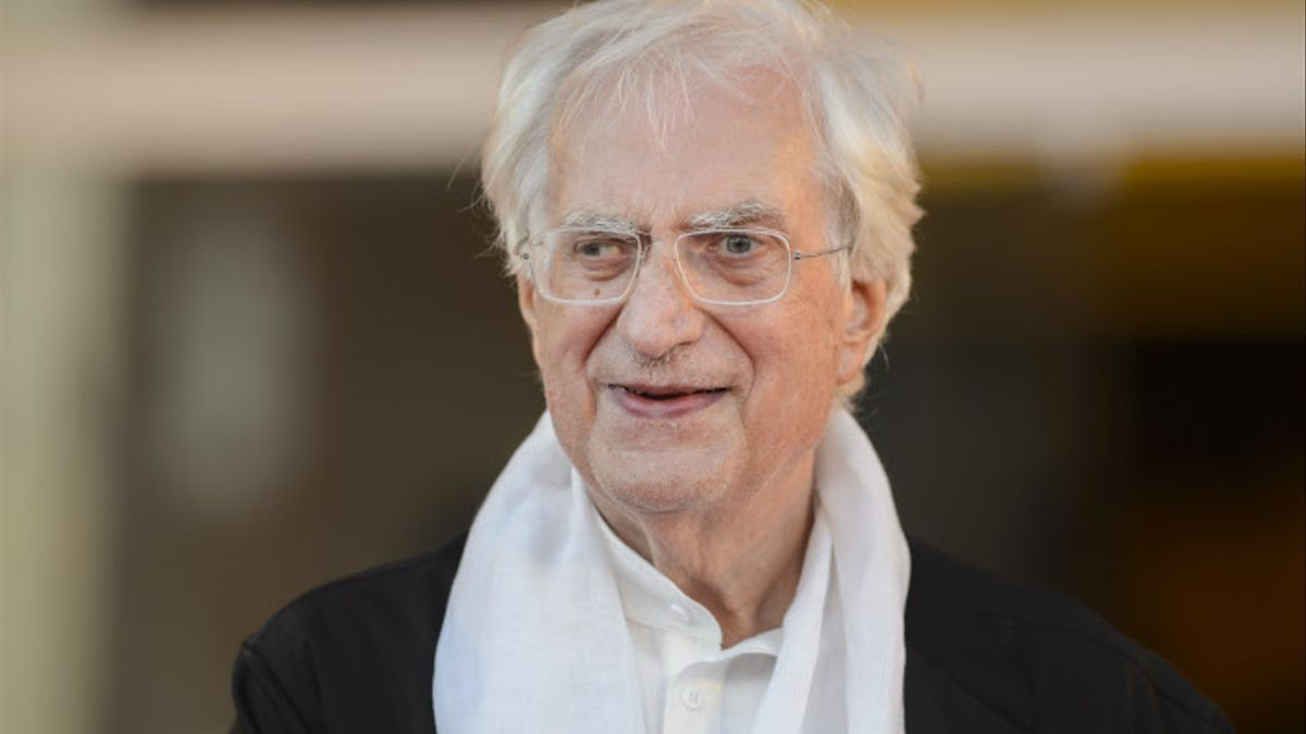Tavernier en 2015 en el Festival de Venecia, donde le entregaron el León de Oro en reconocimiento a toda su carrera