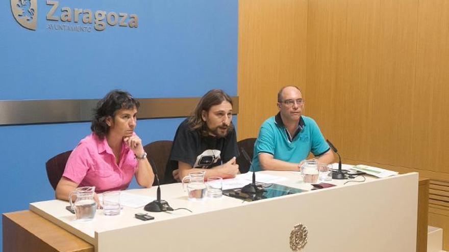 Ayer se presentó la Oficina Municipal de Vivienda. Foto: Ayuntamiento de Zaragoza
