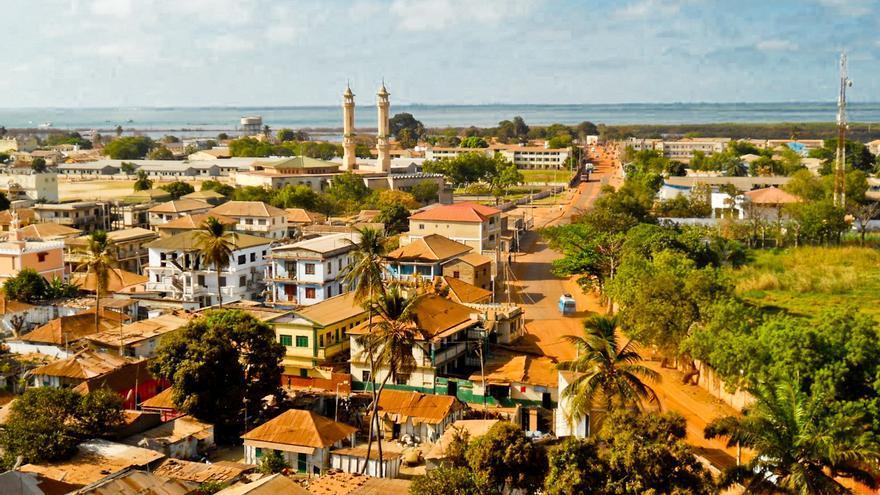 Banjul, capital de Gambia y puerta del río que recorre longitudinalmente el país más pequeño de África.