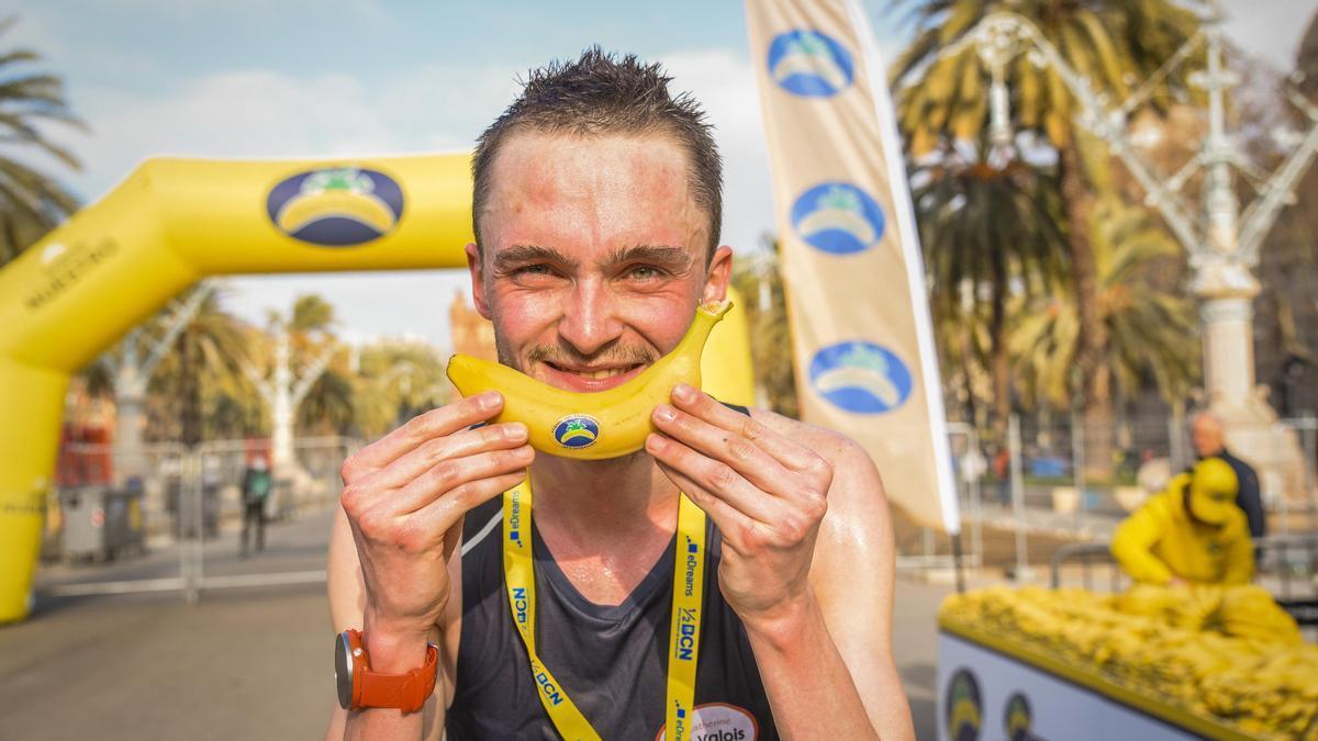 Imagen de archivo de un participante  del 'Circuito Nacional de Running de Plátano de Canarias'.