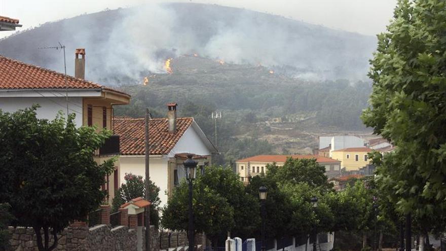 Detenido al presunto autor de 4 incendios en el municipio cacereño de Acebo
