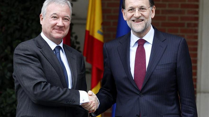 Rajoy recibe hoy en La Moncloa al presidente de Murcia, Ramón Luis Valcárcel
