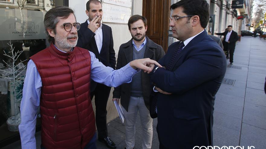 Carlos González y Jesús León, en enero de 2018 | MADERO CUBERO