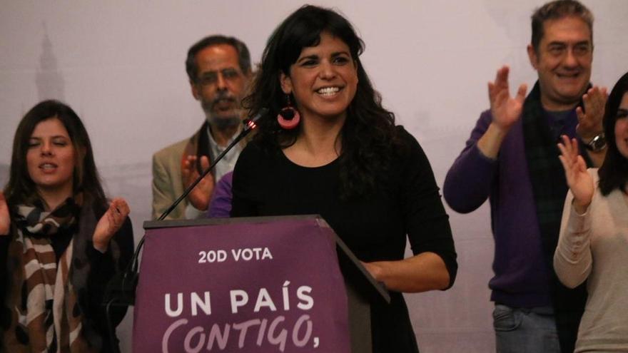 """Teresa Rodríguez abre el proceso para renovar los órganos de Podemos Andalucía ante """"signos de claro agotamiento"""""""