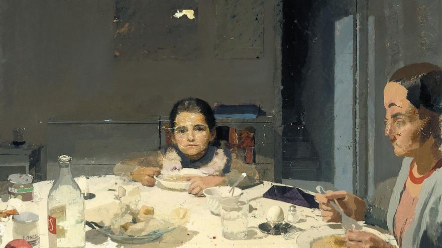 La Cena del pintor Antonio López